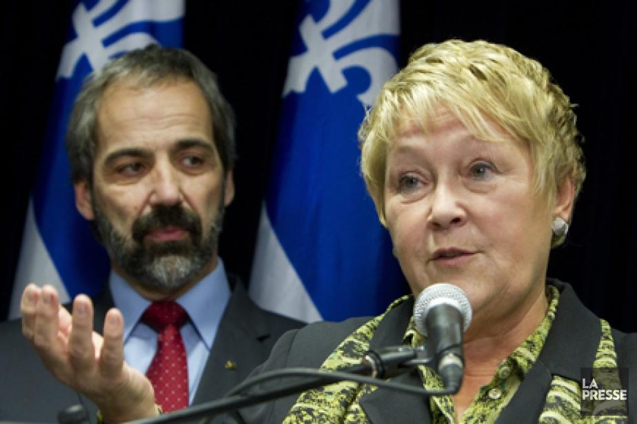 Pauline Marois présidera le comité et le nouveau... (Photo: Robert Skinner, archives La Presse)
