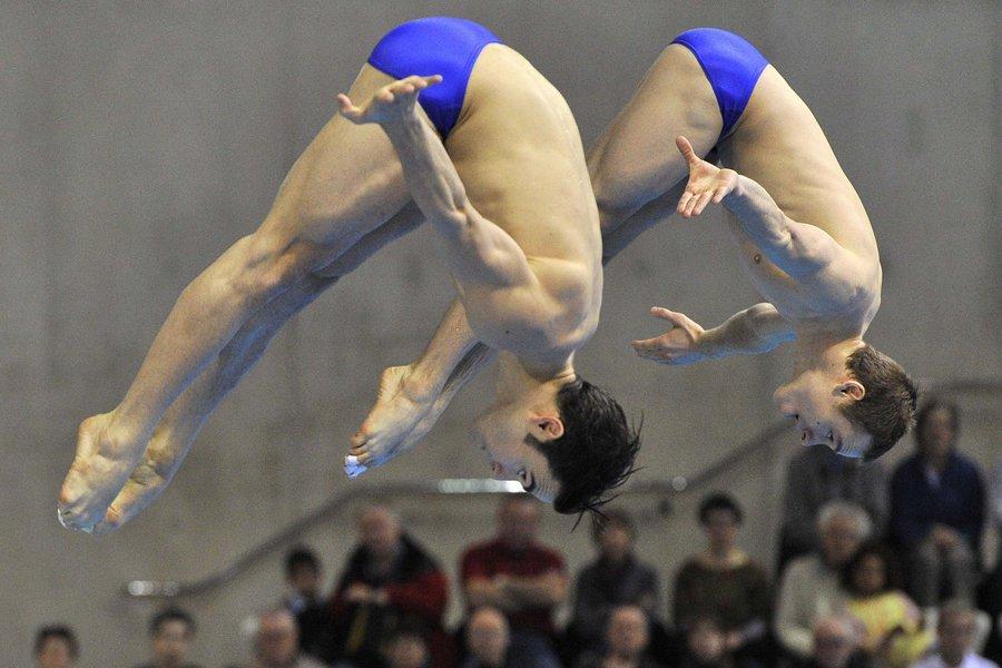 Alexandre Despatie et Reuben Ross ont pris le... (Photo: Reuters)