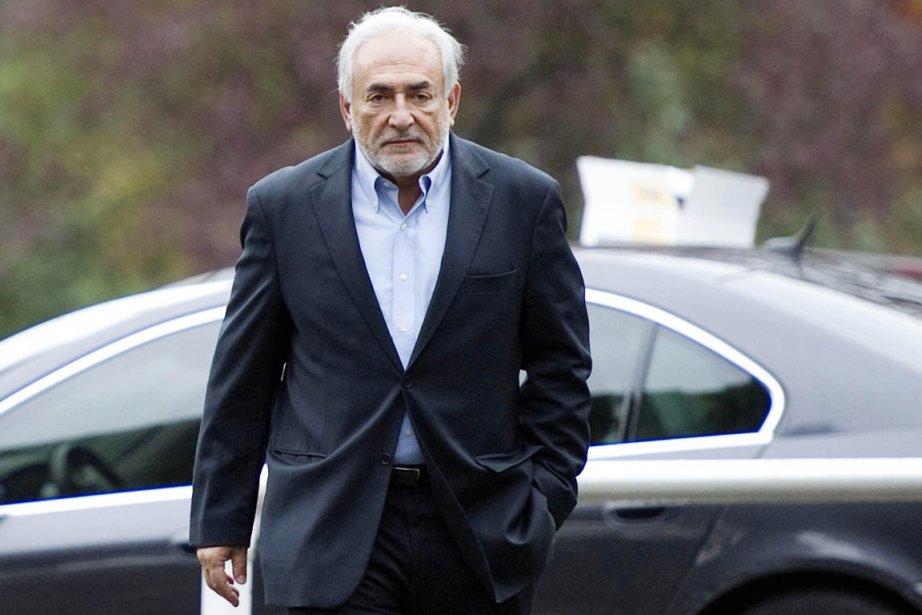 Dominique Strauss-Kahn est convoqué mardi à 8h GMT... (Photo: Miguel Medina, Archives AFP)