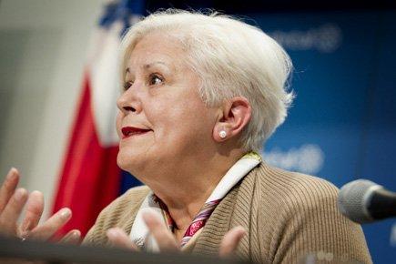 La chef de l'opposition, Louise Harel, souligne que... (Photo: Marco Campanozzi, La Presse)