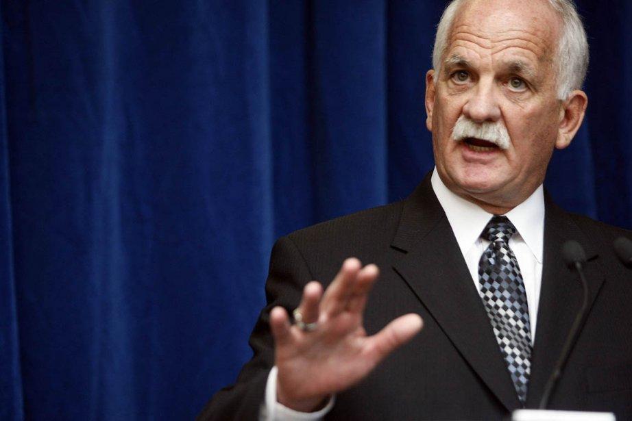 Le ministre de la Sécurité publique, Vic Toews.... (Photo: Étienne Ranger, archives Le Droit)