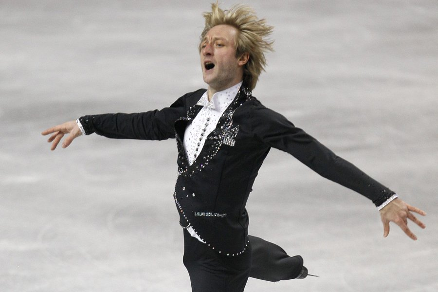 Evgeni Plushenko... (Photo archives AP)