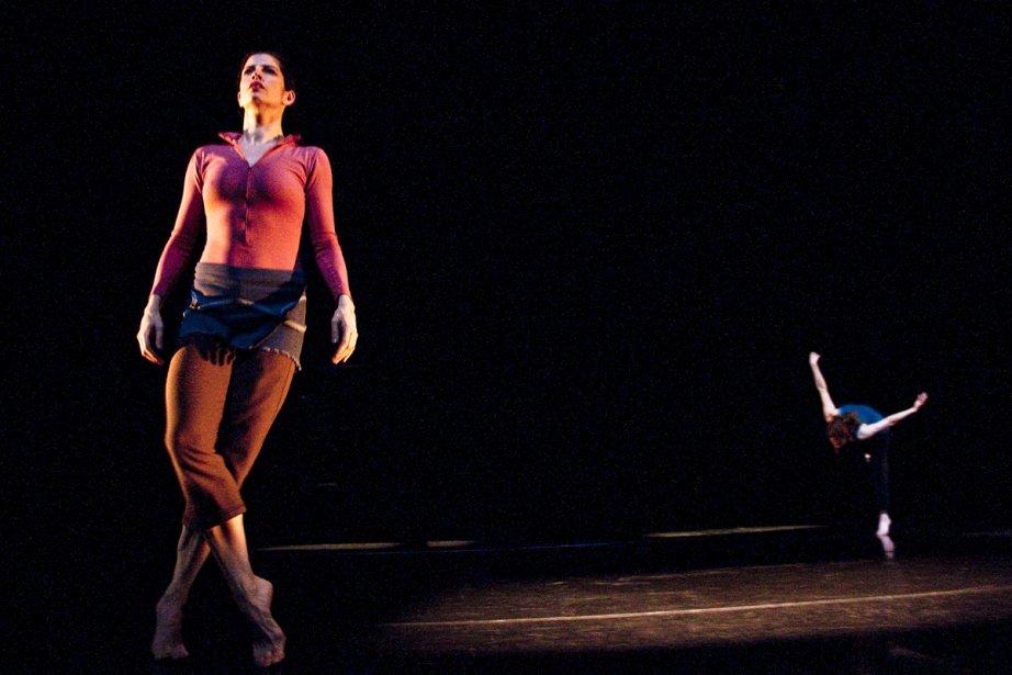 Ève Garnier et Victoria May, deux danseuses... (Photo fournie par la production)