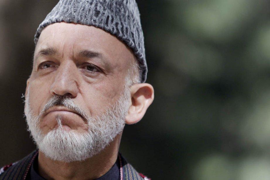 Le président afghan Hamid Karzaï.... (Photo: Kamran Jebreili, AP)