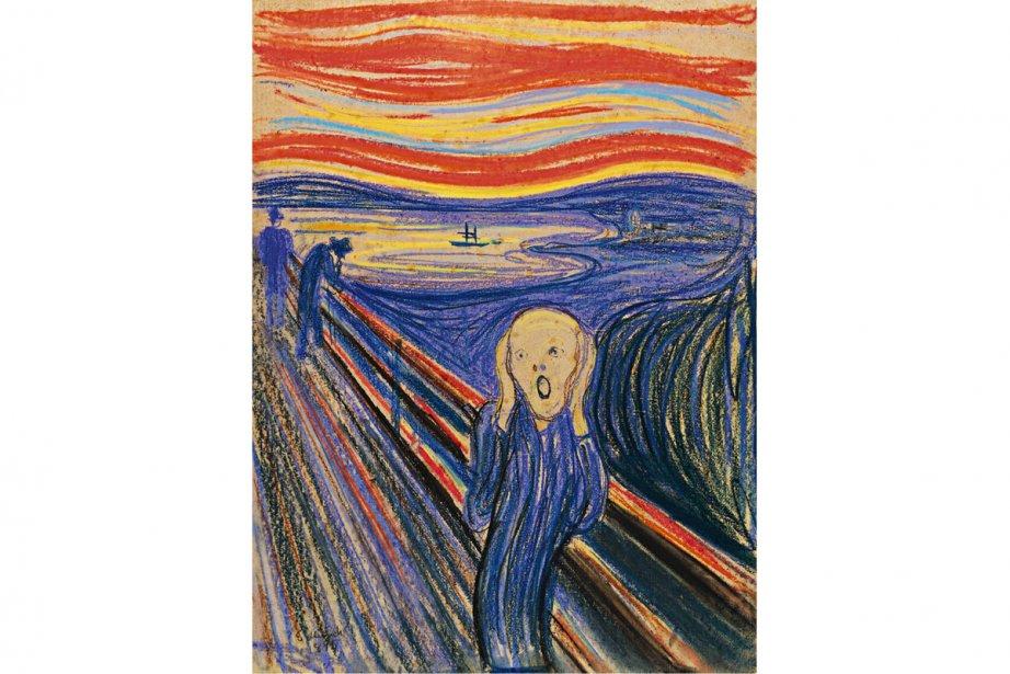 Le cri d'Edvard Munch.... (Photo fournie par Sotheby's)