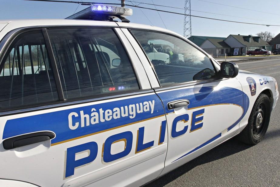 Le policier de Châteauguay Jean-François Simon s'est vu... (PHOTO D'ARCHIVES)