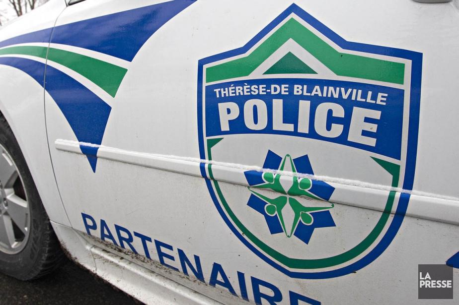 Un automobiliste est mort peu après... (PHOTO FOURNIE PAR LE SERVICE DE POLICE)