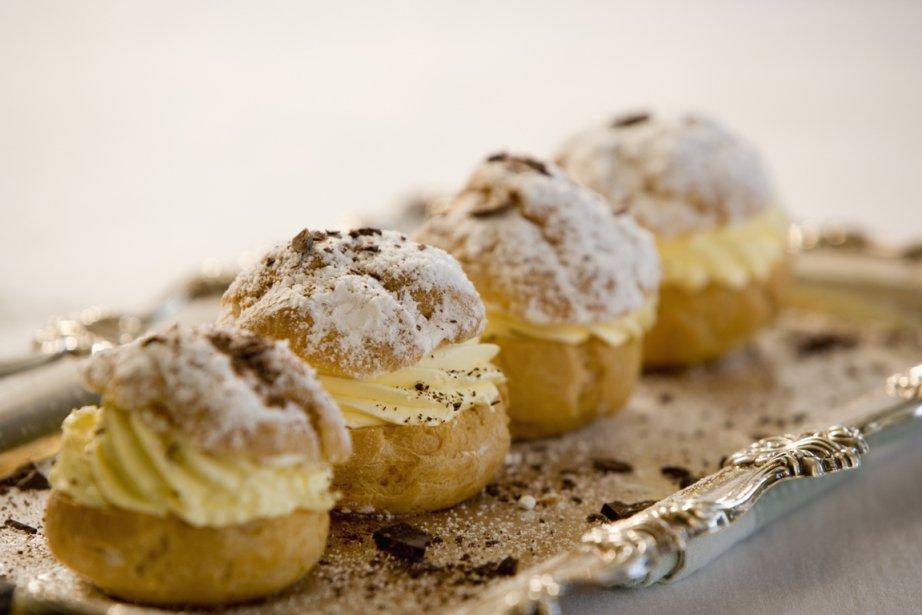 Contraste de la pâte et de sa garniture de crème onctueuse: le... (Photos.com)