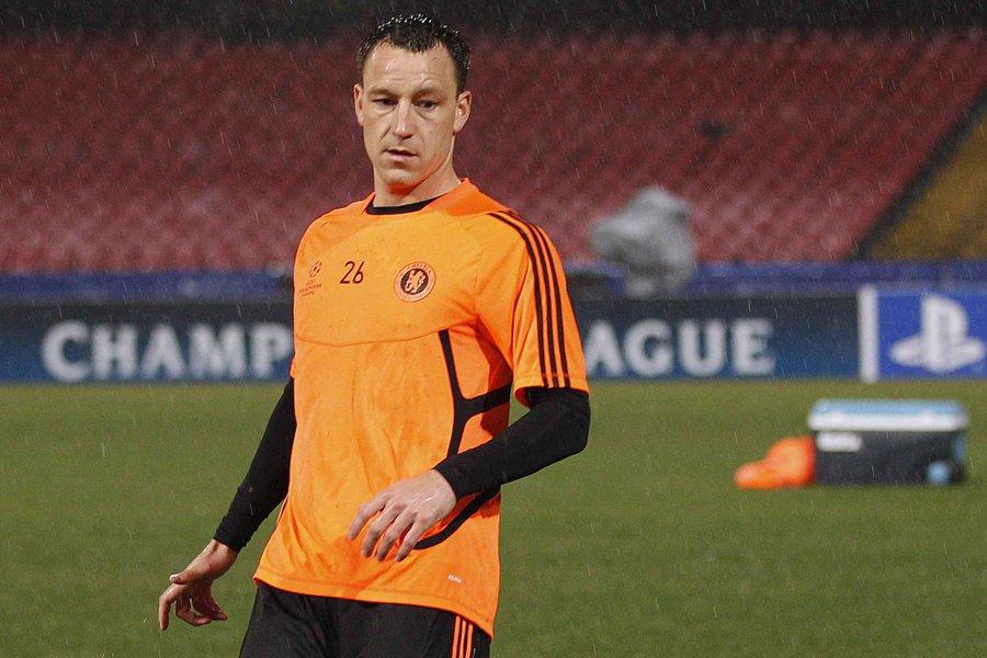 Le capitaine de Chelsea, John Terry.... (Photo: Reuters)