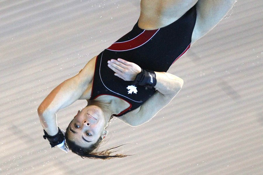 Meaghan Benfeito... (Photo: Reuters)