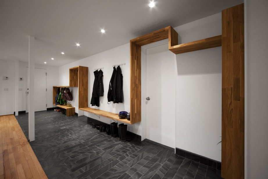 Deux portes permettent aux occupants d'accéder directement au... (Photo: Steve Montpetit pour Les Ateliers L. McComber)
