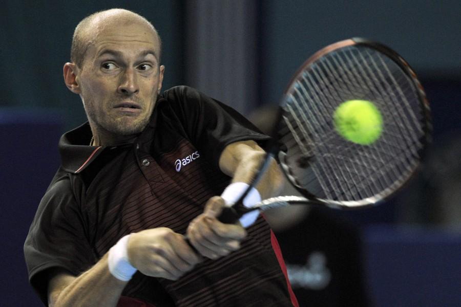 Nikolay Davydenko... (Photo archives AFP)