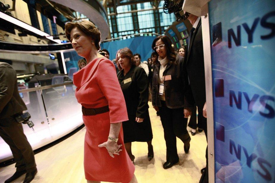 Est-ce le passage de l'ancienne première dame des... (Photo Reuters)