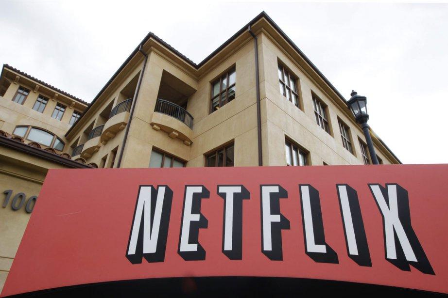 La stagnation du cours de l'action de Netflix ( (Photo AP)