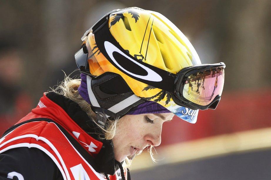 Dominique Maltais s'est contentée d'une septième place à... (Photo : Mathieu Bélanger, Reuters)