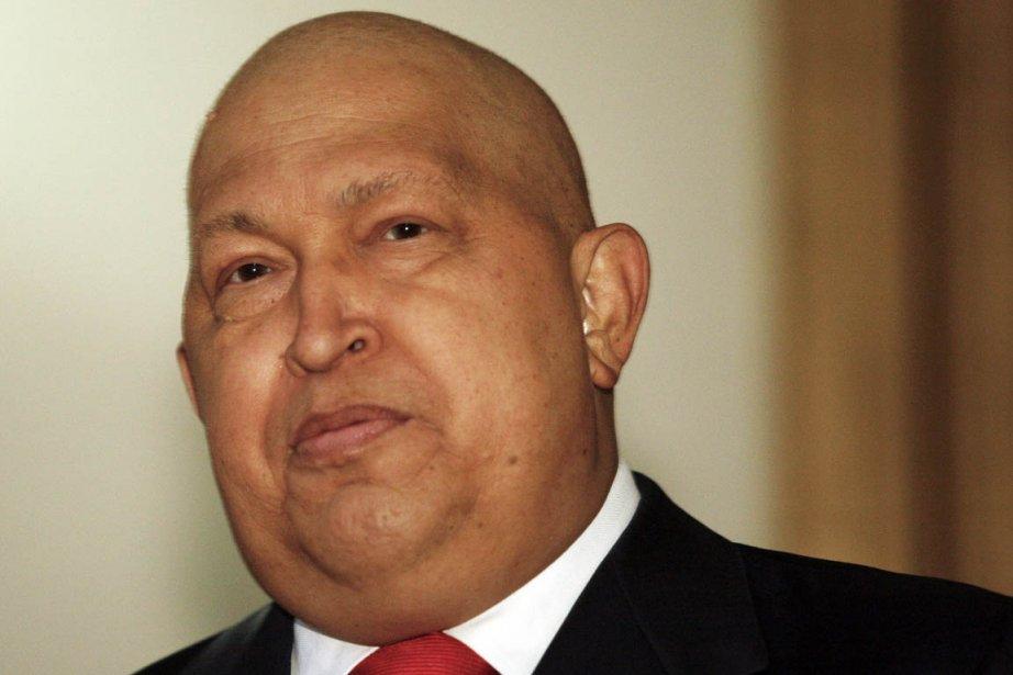 Hugo Chavez parle d'une lésion cancéreuse de 2... (Photo: Gil Montano, Archives Reuters)