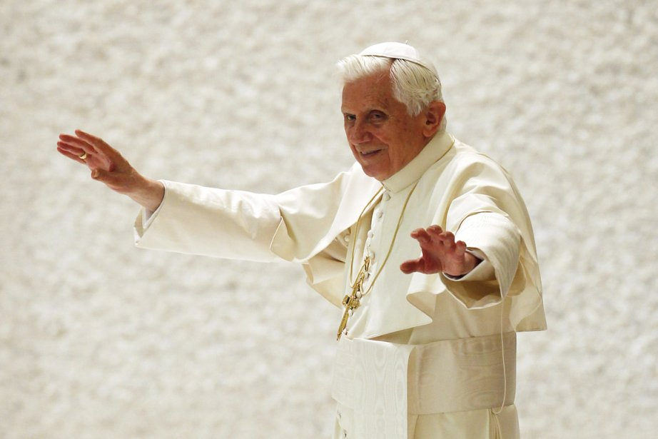 Le pape Benoît XVI.... (Photo: Giampiero Sposito, Reuters)