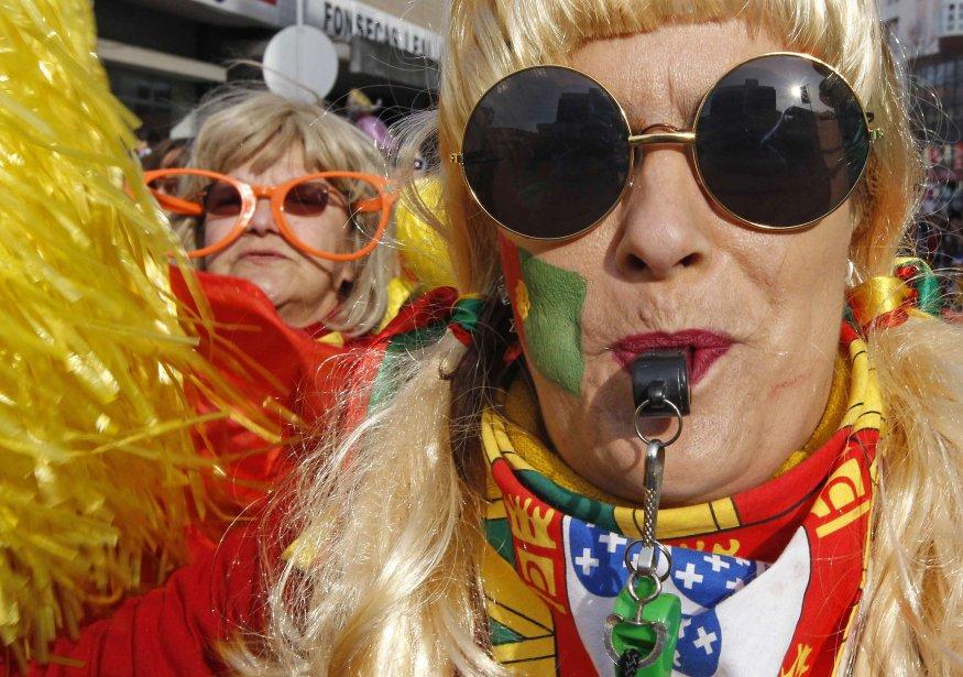 Parade à Torres Vedras, au Portugal. | 22 février 2012