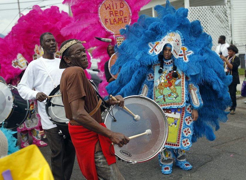 Mardi gras en Nouvelle-Orléans. | 22 février 2012