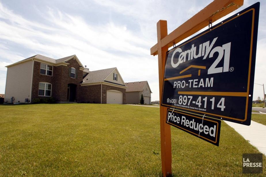 L'activité de revente de maisons aux États-Unis a progressé en... (Photo Reuters)