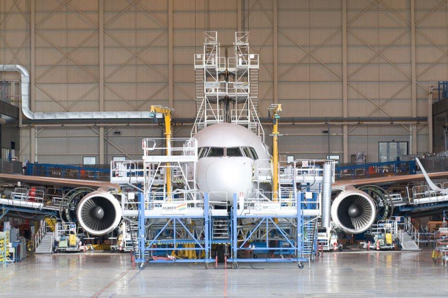 Les machinistes d'Air Canada ont voté à 78 % en... (Photo fournie par Aveos)