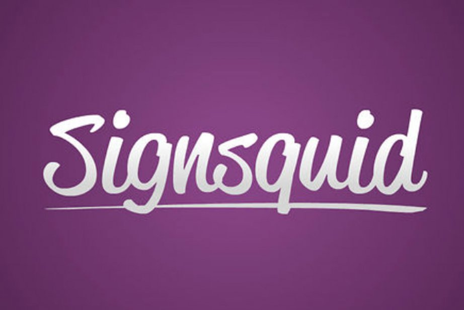 Logo de Signsquid.... (Photo: Signsquid)