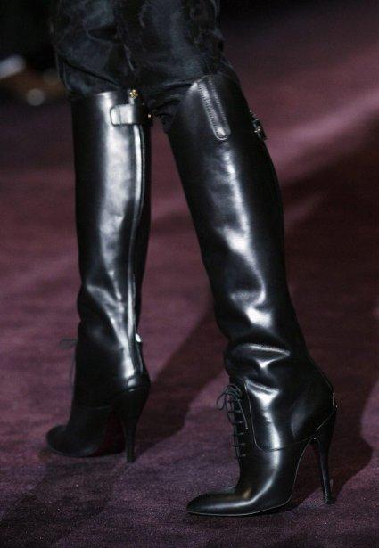 Défilé Gucci à Milan... | 2012-02-24 00:00:00.000