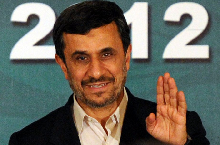 Le président iranien Mahmoud Ahmadinejad... (Photo AFP)