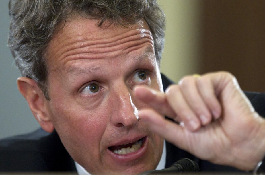 Timothy Geithner... (Photo Reuters)