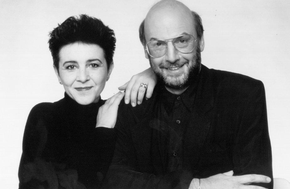 Chantal Jolis et René Homier-Roy animaient Double Vue sur le Festival des Films du Monde 92. (Photo Radio-Canada)