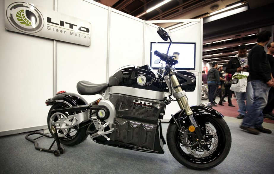 Au salon de la moto de montr al cyberpresse - Salon de moto montreal ...