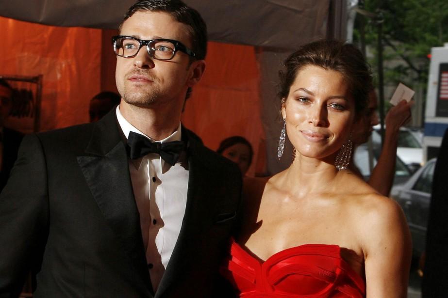 Jessica Biel et Justin Timberlake... (Photo AP)