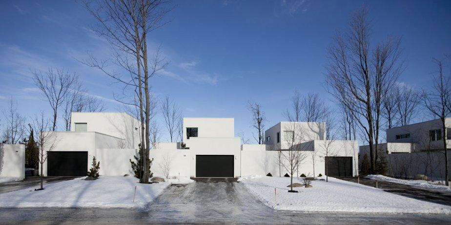 Les maisons en copropriété Haus, à Granby, sont implantées par... | 2012-02-28 00:00:00.000