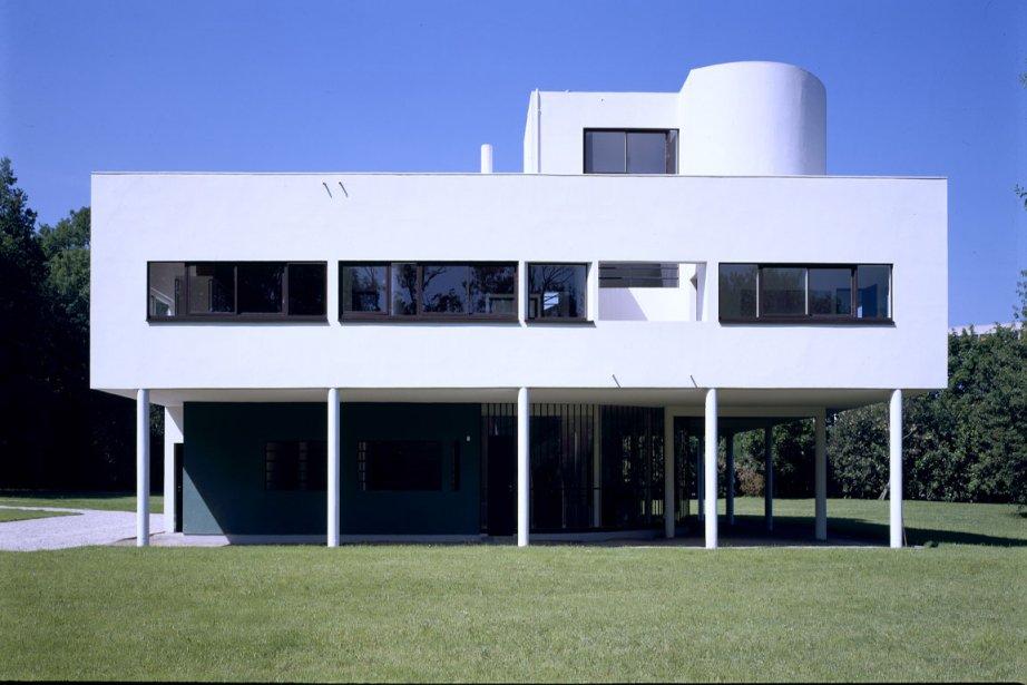 Symbole de la modernité, la célèbre villa Savoye,... (Photo: Jean-Christophe Ballot pour Le centre des monuments nationaux)