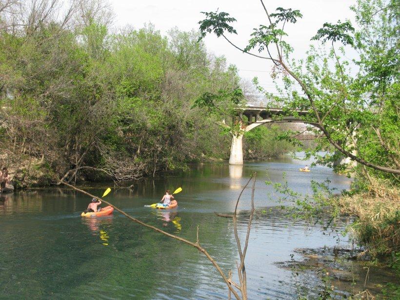 Kayak à Austin... | 2012-02-28 00:00:00.000