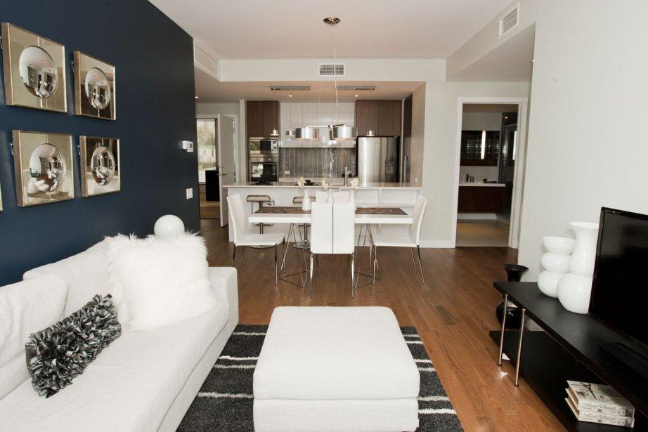 Le promoteur veut se démarquer en offrant des appartements d'un certain raffinement, plus spacieux que ceux habituellement offerts dans les environs. | 28 février 2012