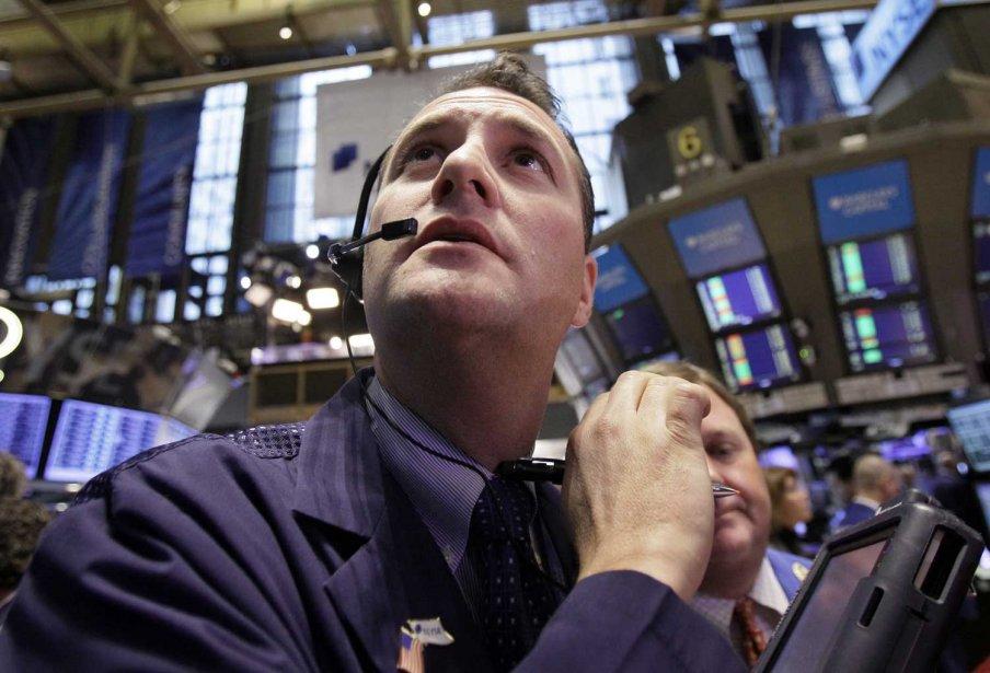 La Bourse de New York a fini au plus haut depuis plus de quatre ans... (Photo AP)