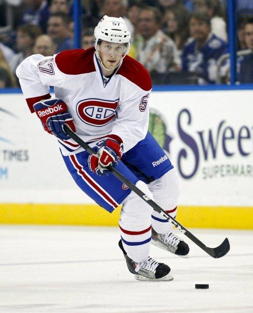 Le joueur du Canadien, Blake Geoffrion. | 28 février 2012