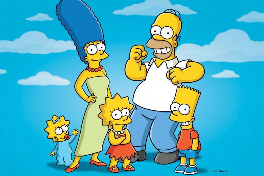 The Simpsons... (Photo: AP)