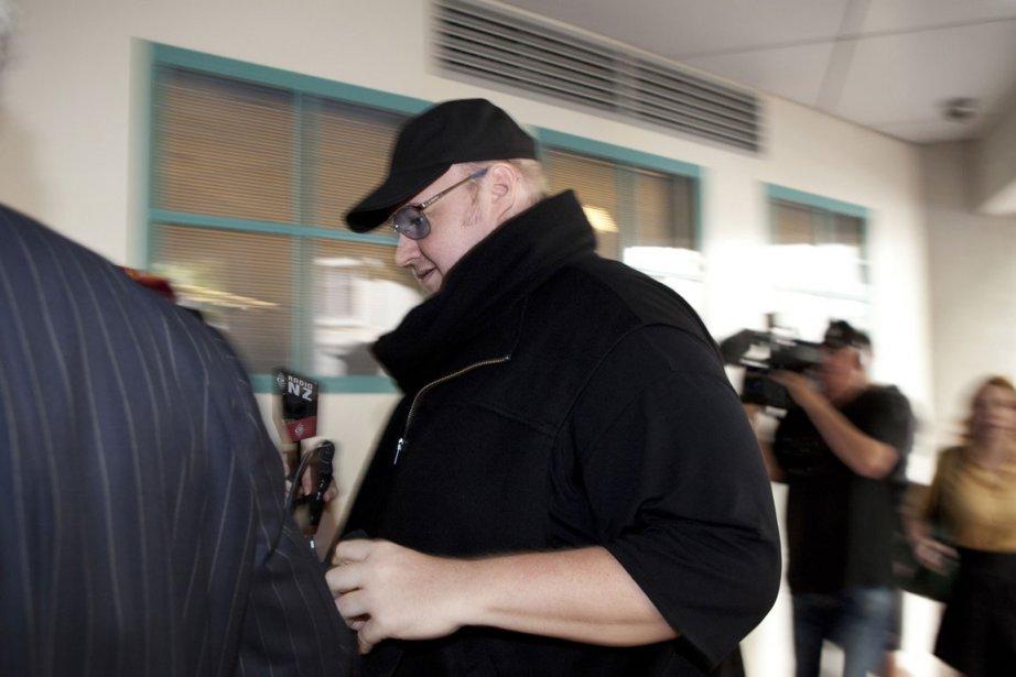 Kim Schmitz, alias Kim Dotcom.... (Photo: Reuters)