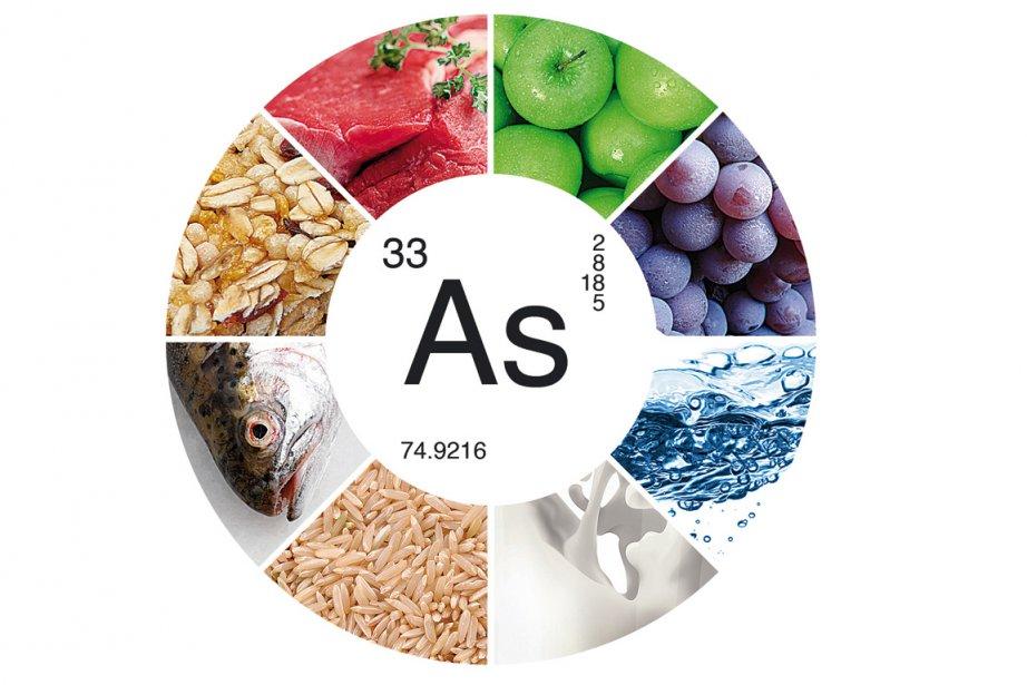 Une étude révélant des taux inquiétants d'arsenic... (Photomontage: La Presse)