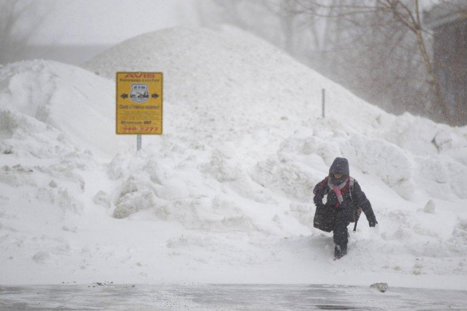 Environnement Canada vient tout juste de lever son... (Photo: Ivanoh Demers, La Presse)