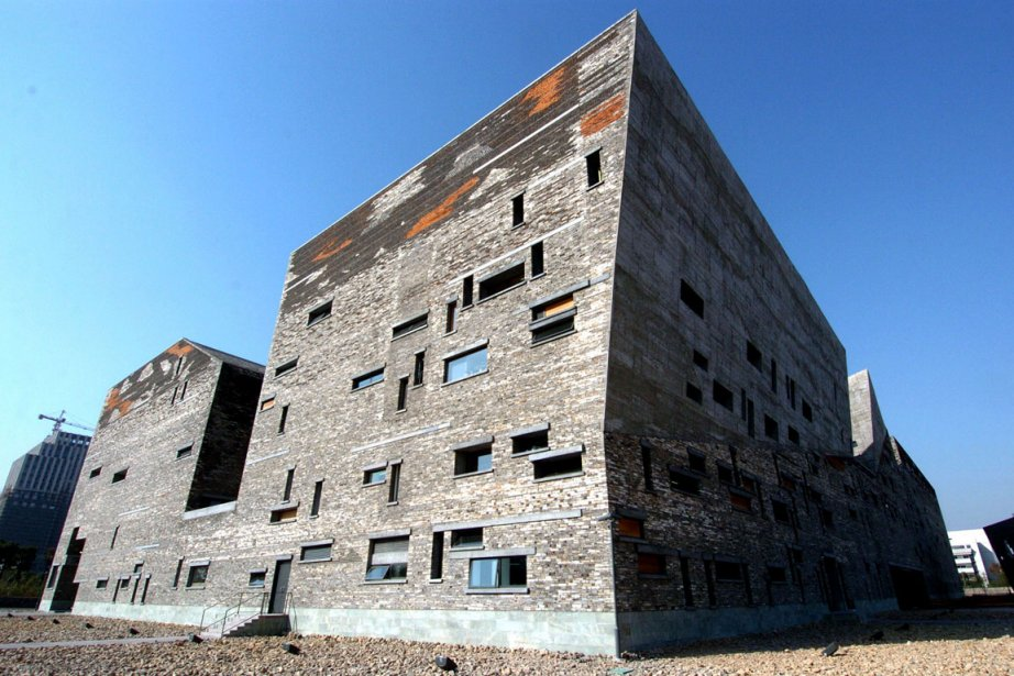 Le Musée historique de Ningbo, conçu par l'architecte... (Photo: AFP)