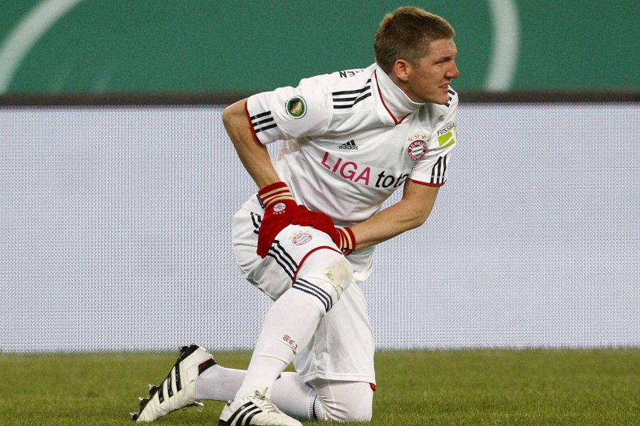 Bastian Schweinsteiger... (Photo: Reuters)