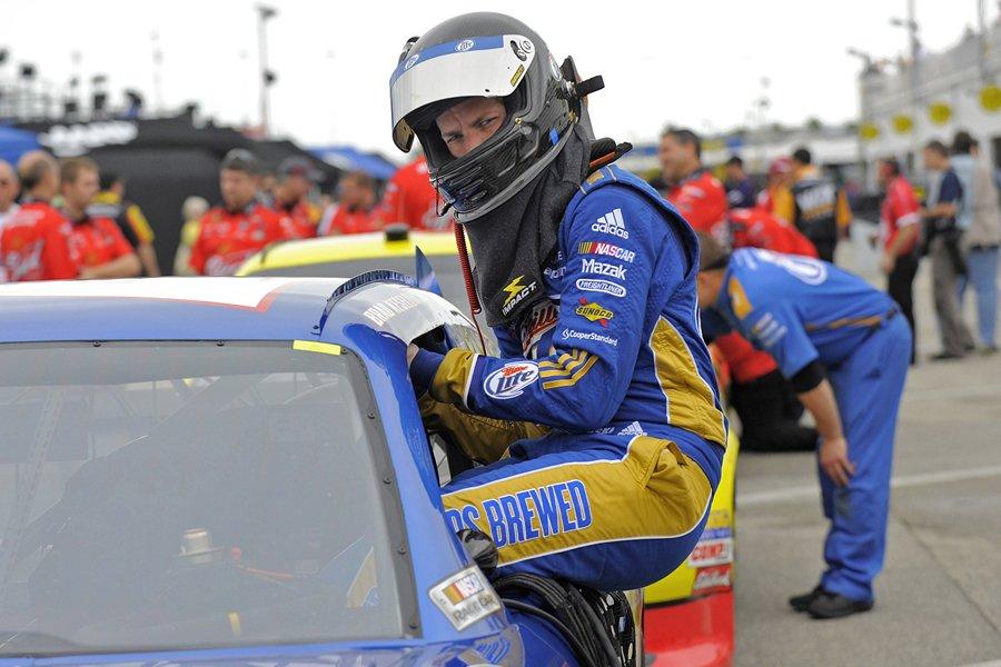 Le pilote de NASCAR Brad Keselowski.... (Photo: Reuters)