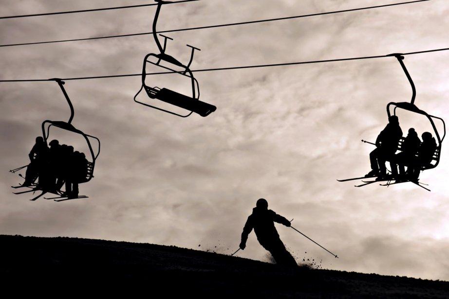 Tous les centres de ski alpin se... (Photo: Bernard Brault, archives La Presse)