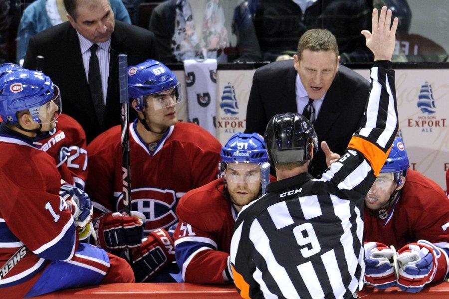 Randy Cunneyworth présente une fiche de 11-18-3 à... (Photo: Bernard Brault, La Presse)