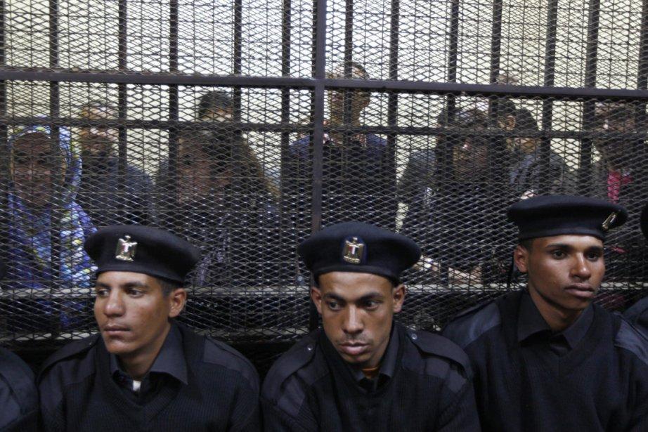 17 employés étrangers d'ONG de défense de la... (Photo : Khalil Hamra, AP)
