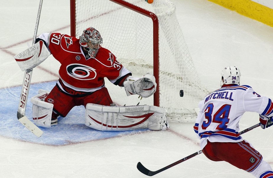 Les Rangers ont savouré leur troisième victoire de... (Photo: Karl B DeBlaker, AP)