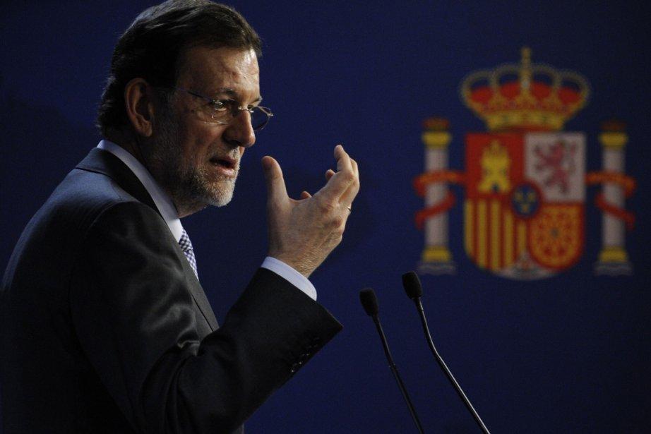 Mariano Rajoy... (Photo AFP)